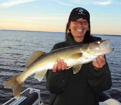 Trophy Nipissing Walleye
